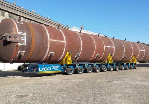 Acumulador de LPG . Refinaria de Matosinhos. Petrogal 2018