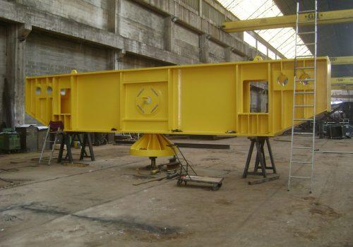 Ferramentas de elevação de alternador para a barragem de Artvin. Turquia.2013