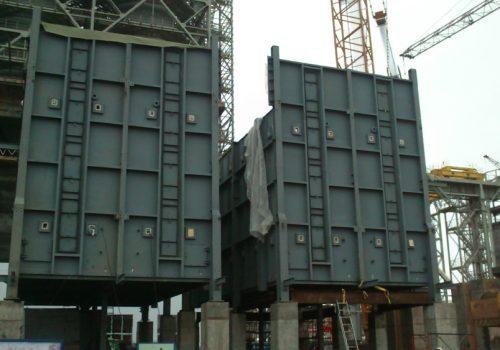 painéis da radiação para forno petroquímica.LUMMUS.LUKOIL.RUSSIA .2013