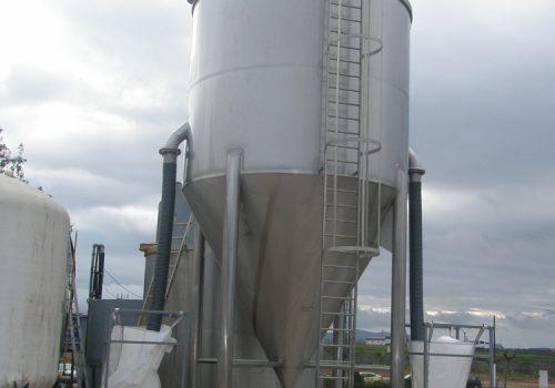 Decantador - 28.000L - Ind.Química - EnprolimS.L - Badajoz. 2008