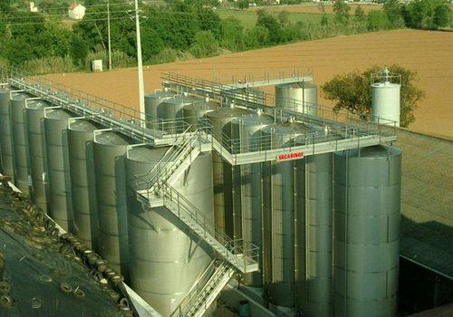 Depósito e Armazenamento; Industria Vinicola. -Destilaria Ferreira Gomes - Tomar. 2013