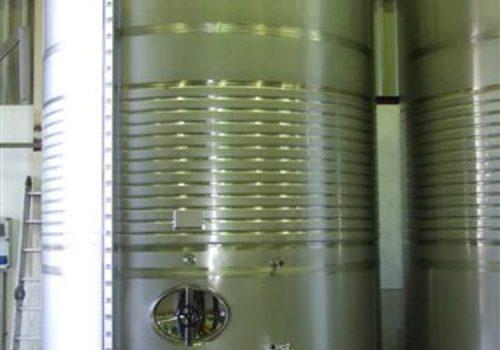Depósito Fermentação Brancos Ind. Vinicola;