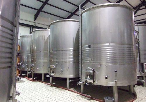 Depósito Fermentação tintos Tampo Amovível Ind. Vinicola . 2013
