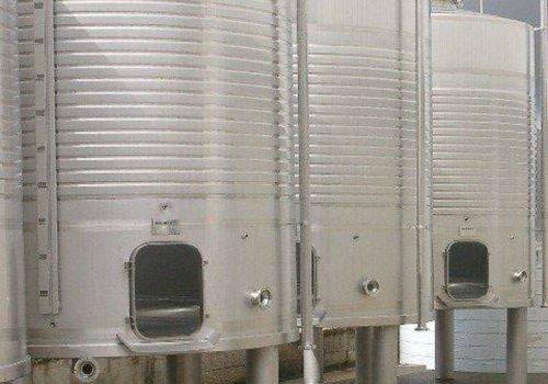 Depósito Fermentação de Tintos - Ind. Vinicola