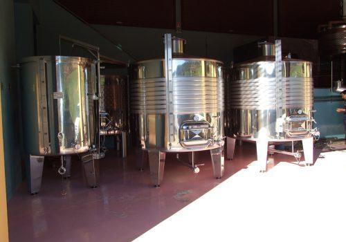 Depósito Fermentação tintos 4.750L; Ind. Vinicola; João Teodosio Barbosa . 2008