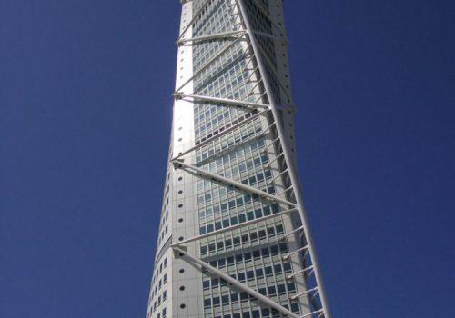 Estrutura Metálica de Edifício Turning Torso - Suiça - Emesa - 2003