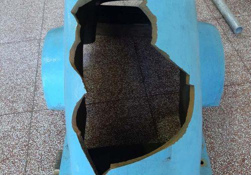 Reparação de roda Pelton. EDP. 2020