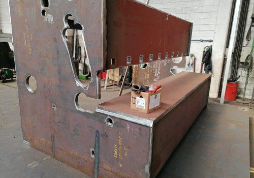 Fabrico de Estruturas para maquinas Ferramentas. ADIRA. 2020