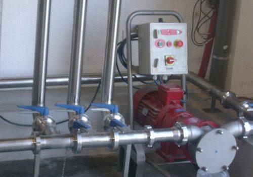 Tubagens para azeite; Ind. Alimentar; Manuel Serra, S.A - Vila do Conde; 2011